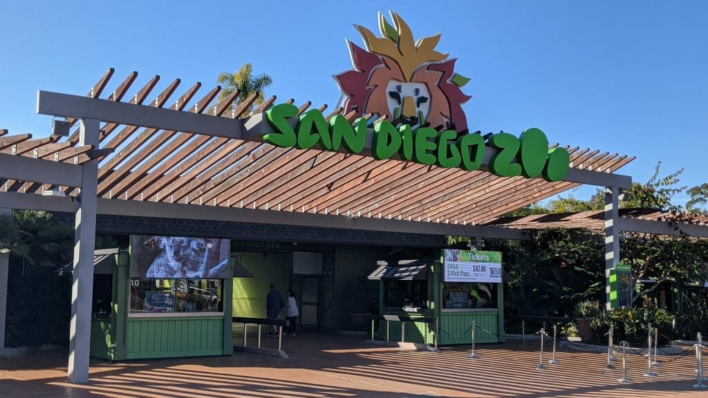 San Diego Zoo Entrance