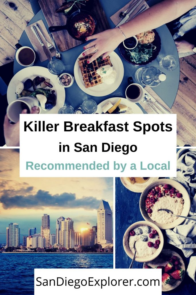 Discover the top must-try spots for breakfast in San Diego. There is no need to skip out on the most important meal of the day. #sandiegotrip #sandiegotravel #sandiegoitinerary #traveltips #travel #californiatrip #californiatravel #socallifestyle #socaltravel #sandiego #sandiegocalifornia #california #southerncalifornia #breakfast