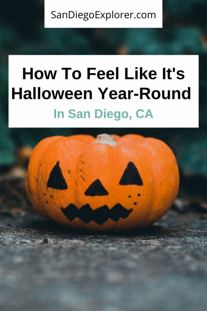 Read this to discover all of the amazing things to do on Halloween San Diego has to offer. Whether you want to be scared, intrigued, or relaxed, there's a spooky activity for everyone in San Diego! #northamericatrip #northamericatravel #northamericaitinerary #traveltips #travel #unitedstatestrip #ustrips #unitedstatestravel #ustravel #sandiego #sandiegocalifornia #sandiegoca #unitedstates #usa #california #halloween