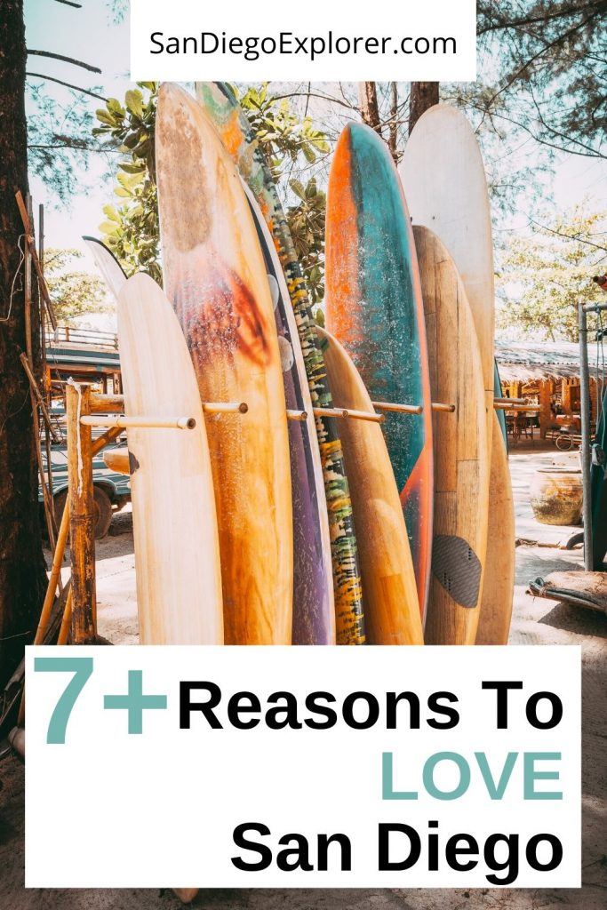San Diego is an amazing city. Here are 7+ reasons why locals and visitors fall in love with America's Finest City. San Diego Trip - San Diego Things to do - San Diego California - Plan your visit to San Diego now. #SanDiego #SanDiegoCA #Socal #California #SanDiegoTrip #SanDiegoWeekend #sandiegolife #Cali #SoCalLife #socalliving #Westcoast #USA #SouthernCalifornia #VisitSanDiego