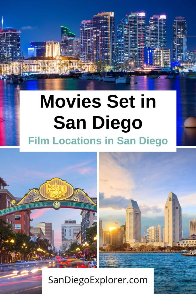Movies Filmed In San Diego - San Diego Film Locations - San Diego Movies - San Diego Attractions - What to do in San Diego - Things to do in San Diego - Movies set in San Diego #sandiego #california #movies #filmlocations #sandiegoitinerary #sandiegoca #usa #usatrip #sandiegoexplorer