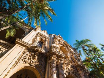 Weekend in San Diego - Casa del Prado in Balboa park, San Diego. California, USA