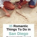 Planning a special date night for your love in San Diego? Here are 35 of the most romantic things to do in San Diego that will make your partner's heart swell. From budget friendly to extraordinary, from adventurous to spectacular, these San Diego Date Ideas are something for every couple. San Diego Romantic Things to do - San Diego Dating - San Diego Date Night - Date Ideas San Diego - Most romantic things to do in San Diego - Where to Propose in San Diego - Fun things to do in San Diego - San Diego for Couples - San Diego California