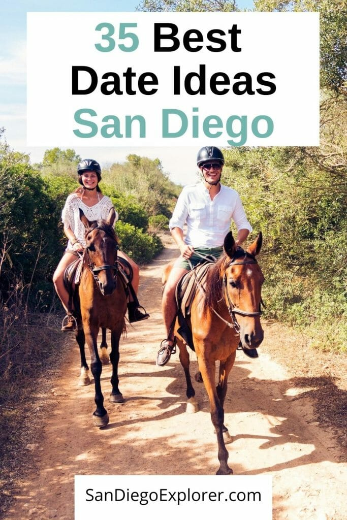 Need Ideas for a Date Night in San Diego? Here are 35 of the most romantic things to do in San Diego that will make your partner's heart swell. From budget friendly to extraordinary, from adventurous to spectacular, these San Diego Date Ideas are something for every couple. San Diego Romantic Things to do - San Diego Dating - San Diego Date Night - Date Ideas San Diego - Most romantic things to do in San Diego - Where to Propose in San Diego - Fun things to do in San Diego - San Diego for Couples - San Diego California
