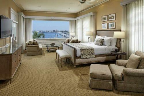 Glorietta Bay Inn Room overlooking the harbor in Coronado
