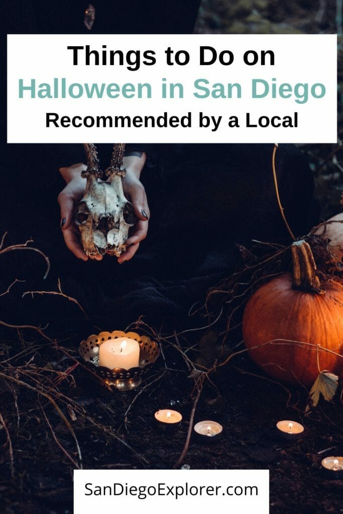 Halloween in San Diego - Best things to do on Halloween in San Diego California. San Diego October Events - San Diego Fall - Haunted House San Diego - Things to do for Halloween in San Diego