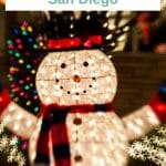 Best Places to see the Christmas lights San Diego and find a winter wonderland of shimmering lights, colorful decorations & stunning displays - San Diego Christmas - San Diego Holidays - San Diego in December - San Diego in Winter - San Diego with Kids - Kid-friendly things to do in San Diego - Things to do in San Diego - Winter in San Diego - San Diego Christmas Lights - San Diego Holiday Display - Winterwonderland San Diego