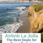 Are you looking for an Airbnb in La Jolla? From stunning beach cottages to budget-friendly studios, here are the best deals for every budget. La Jolla vacation rentals - La Jolla Airbnbs CA - beach houses for rent in San Diego - Airbnbs in La Jolla - Vacation rentals La Jolla - Beachtown getaway - Beach cottages - beach trip - romantic getaway - California beach getaway - San Diego staycation - San Diego airbnbs - beach cottage airbnb - la jolla village - la jolla cove - La jolla shores