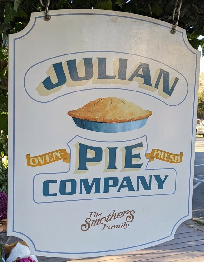 Julian Pie Company Metal Sign