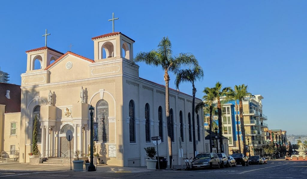 Lady of the Rosary Church Little Italy San Diego