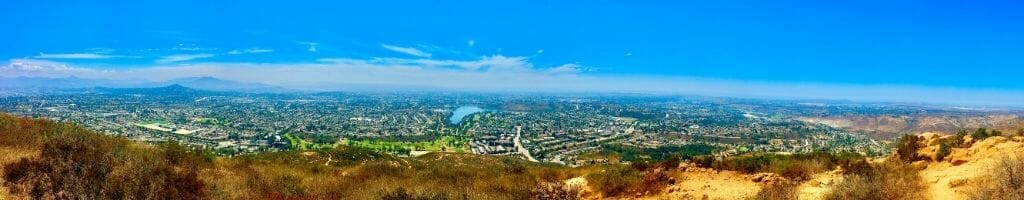Panoramic View from Colwes Mountain Mission Trails Nature Park