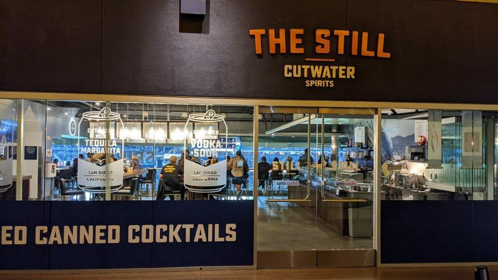 The Still Bar at Petco Park Cutwater Spirits